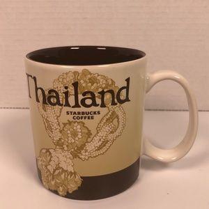 Starbucks Thailand collectable city coffee mug